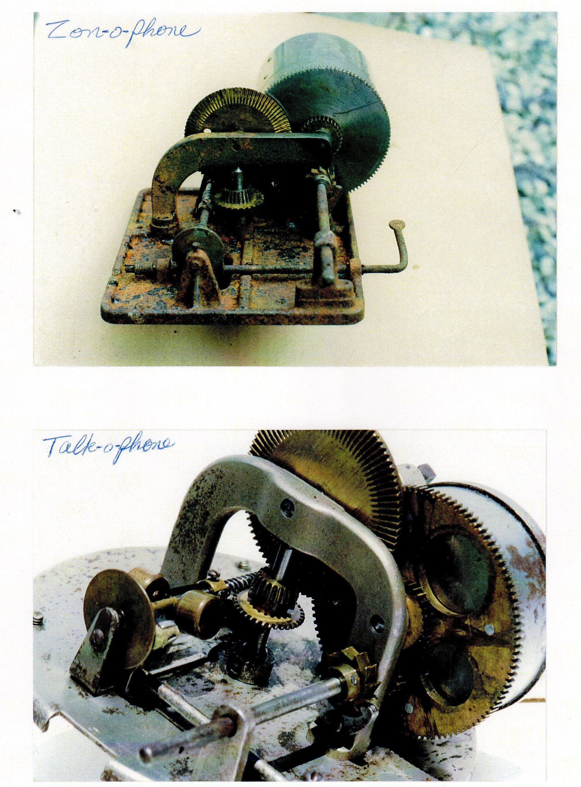 Victor Victrola Motor Identification Repair By Harold