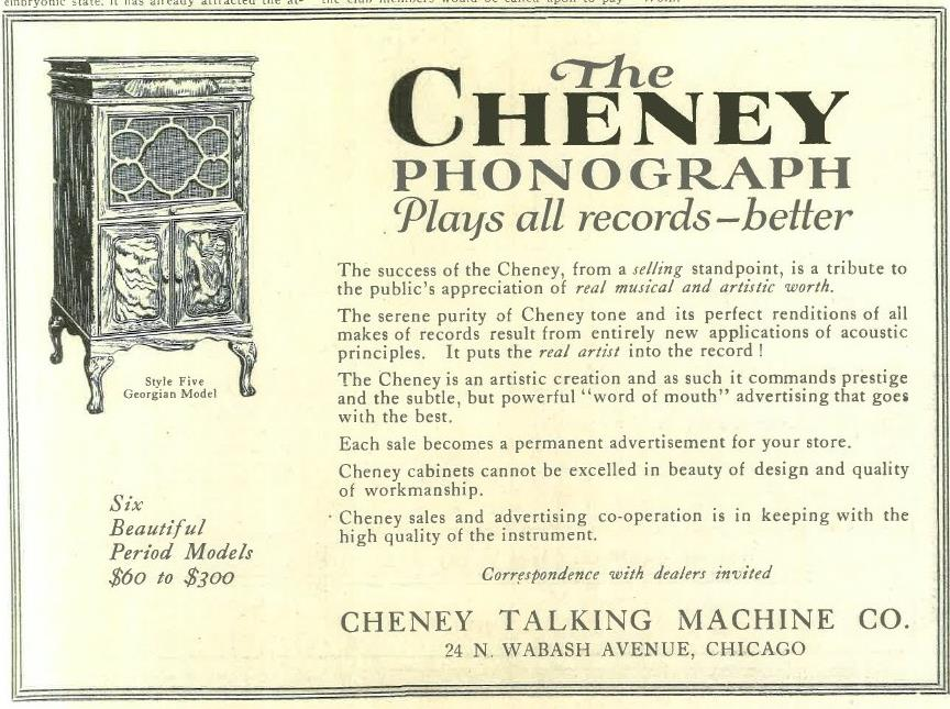 CheneyMarch1918