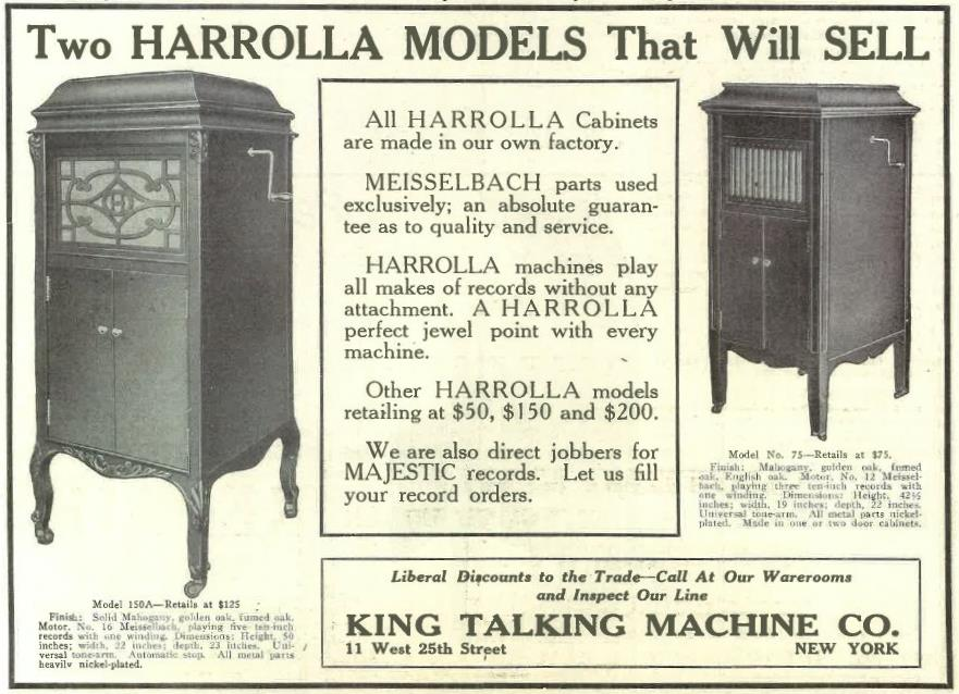 Harrolla March 1917