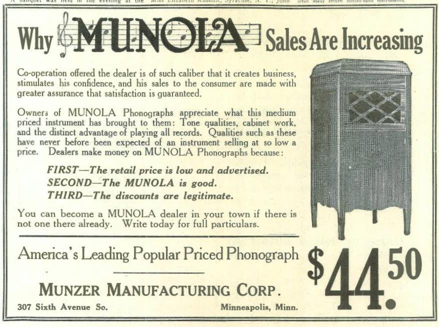 Munola April 1918