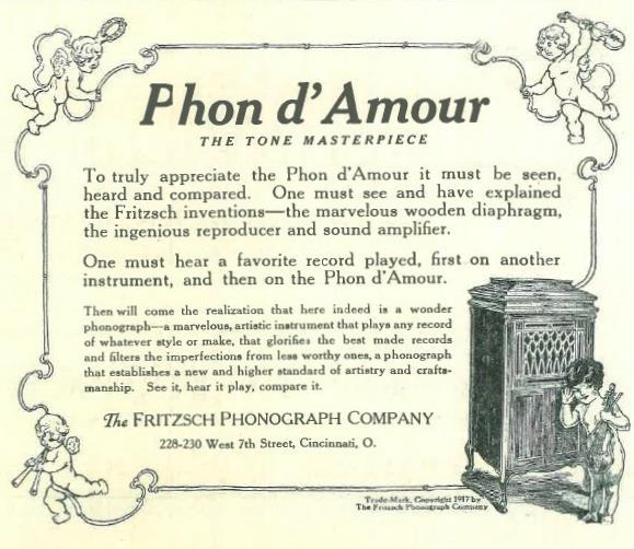 Phon D'Amour Jan 1918
