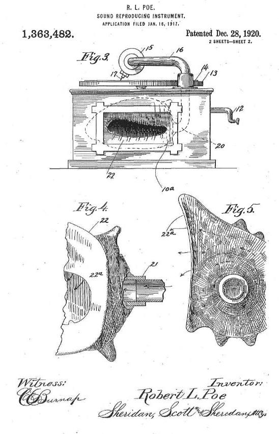 Shell-O-Phone patent 2