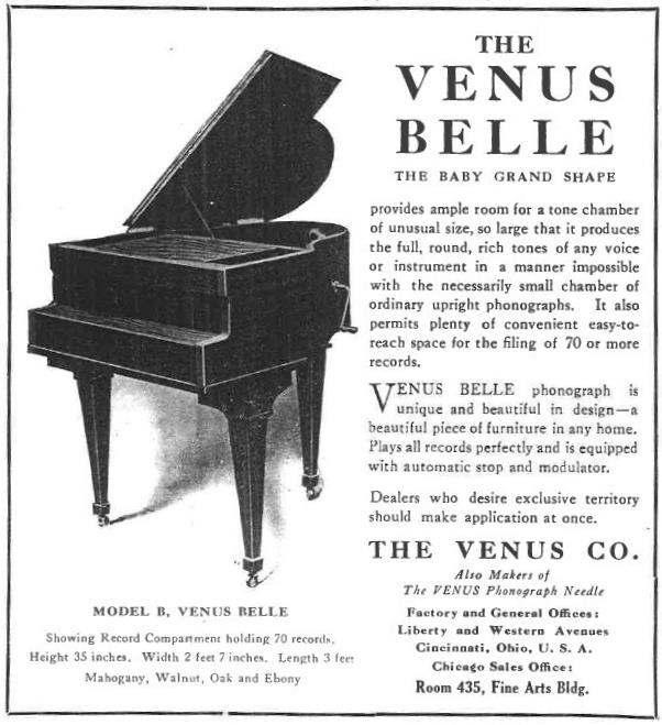 Venus Belle June 1920