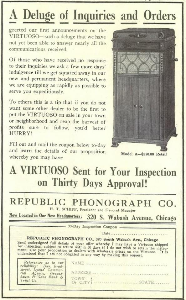 Virtuoso March 1917