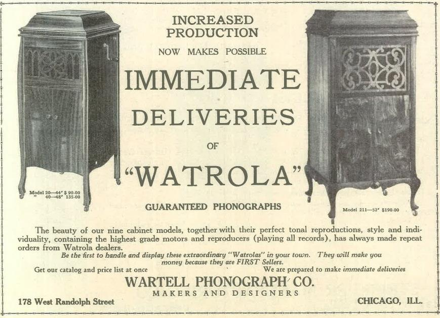 Watrola Oct 1919