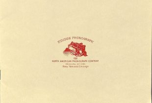 North American Phonograph Co. Pamphlet (ca. 1891-92)
