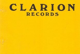 Clarion Cylinder Record Discography