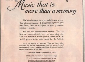 Various Later Victor Advertising